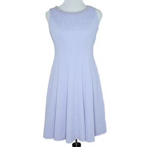 Studio One Dress Size 4 Lilac Fit & Flare